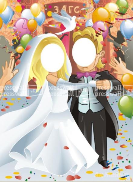 макет тантамарески свадьба