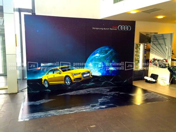 3d press wall на выставку