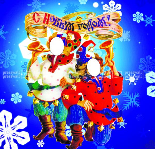 макет тантамарески новый год