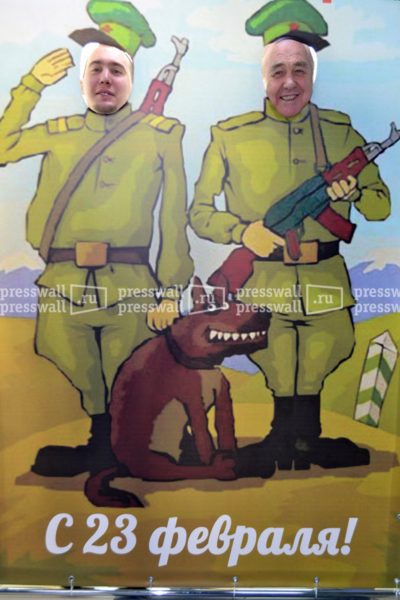 пресс волл день защитника отечества в москве